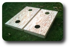 Natural Teeter Toss Boards
