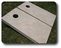 Natural Cornhole Boards
