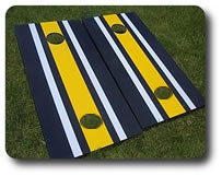 Striped Teeter Toss Boards